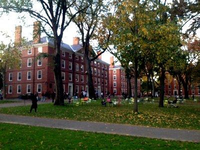 ハーバード大学の校舎