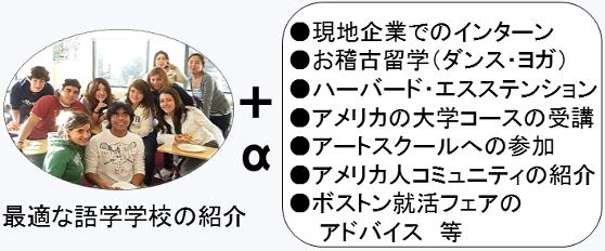 学校紹介+αの例