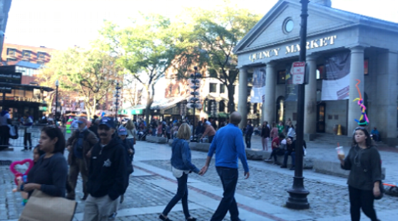 ECボストン(EC Boston)の周辺の雰囲気
