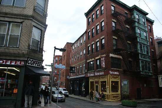ボストン観光名所、ノースエンド