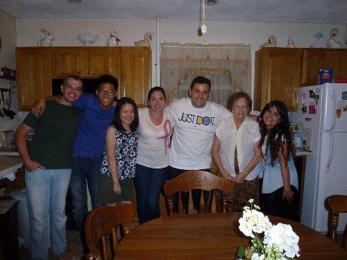 留学の魅力13:ホームステイのメンバー達と