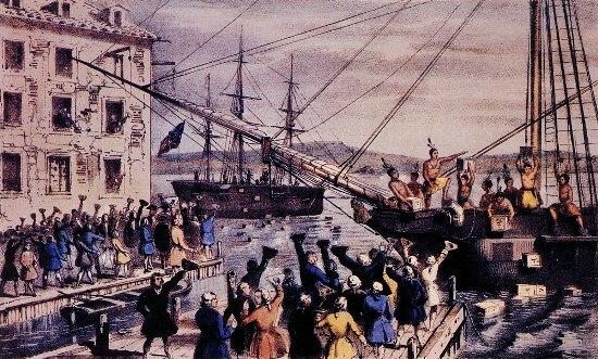 ボストンの歴史(ボストン茶会事件)