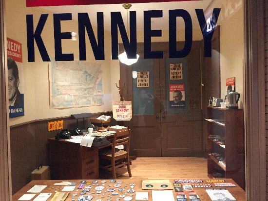 留学の魅力21:JFケネディ博物館の様子