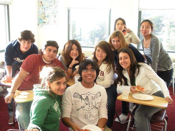 ボストンの語学学校のクラスメイト達