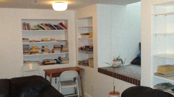 ボストンの学生寮の部屋