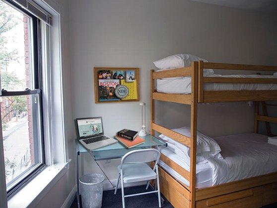 ボストンの寮の風景