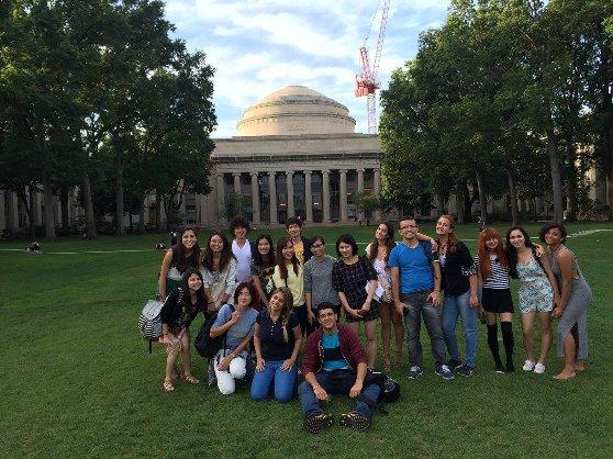 留学の魅力4:語学学校のアクティビティでマサチューセッツ工科大学を訪問