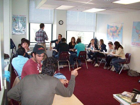 留学の魅力11:語学学校の授業の様子