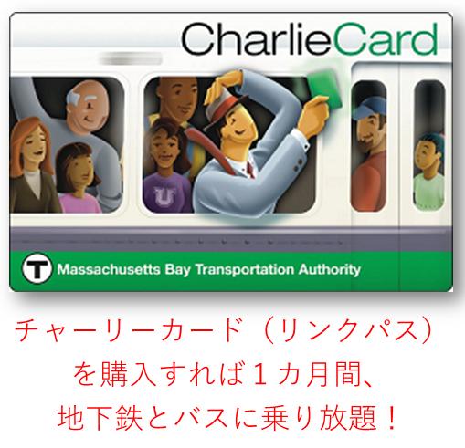 ボストンの地下鉄カード
