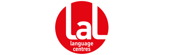 lal english logo