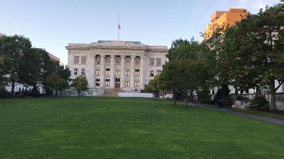 ハーバード大学の医学部(メディカルスクール)の周辺の風景その1