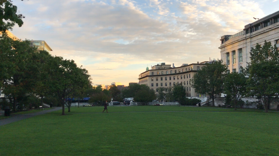 ハーバード大学メディカルスクールのキャンパス外観