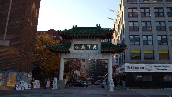ボストン観光名所、中華街の雰囲気