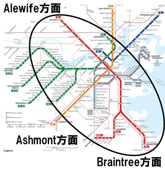 レッドライン路面図