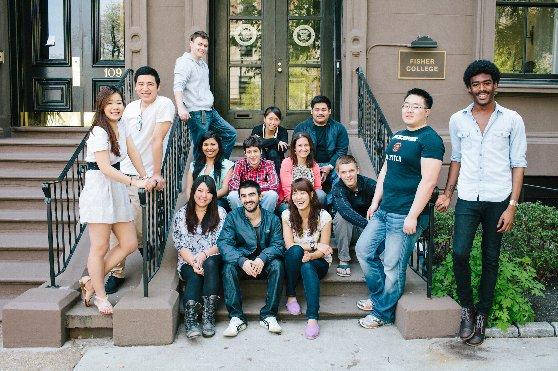 ボストンに留学する学生達の姿