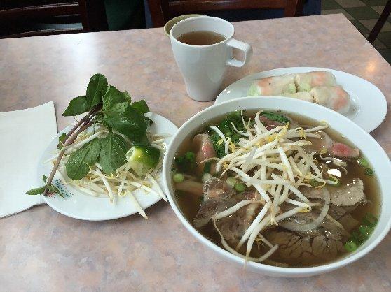 中華街にあるベトナム料理のお店