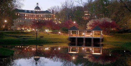 オハイオ大学の美しい景観