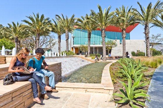 サンタモニカカレッジの雰囲気