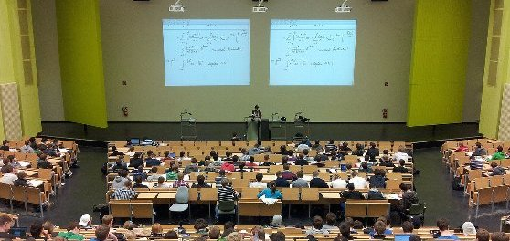 アメリカの大学の講義風景