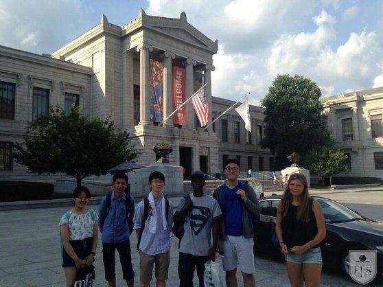 ボストン美術館訪問