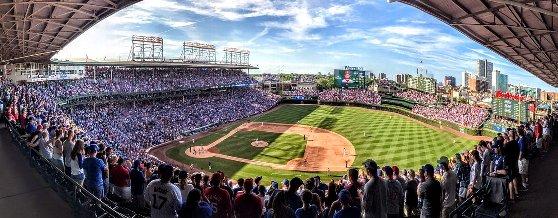 シカゴで野球観戦