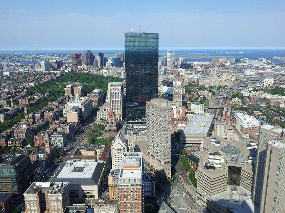 ボストンの町並み