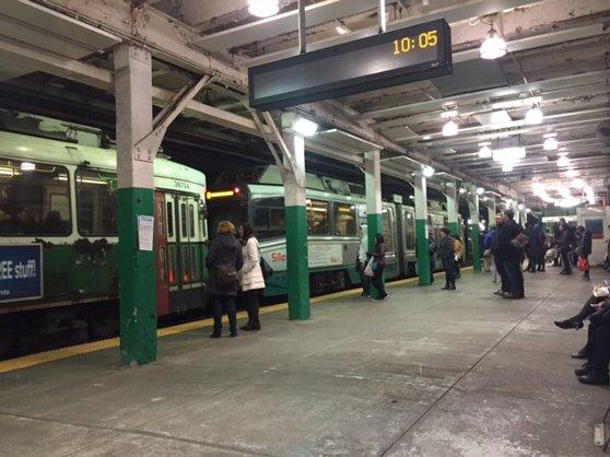 ボストンの地下鉄