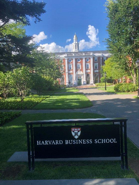 ハーバードビジネススクールの写真