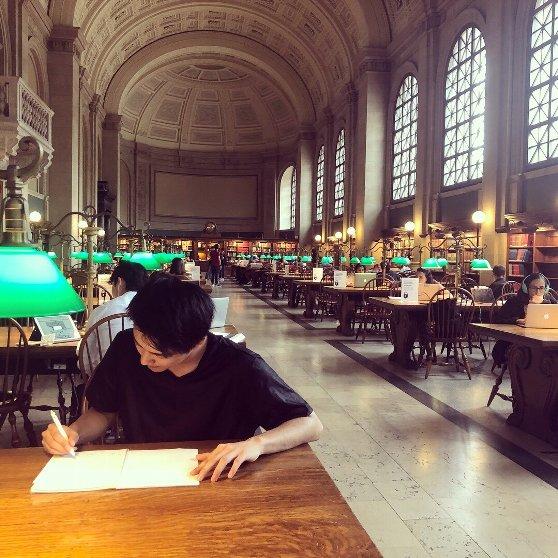 ボストンの図書館