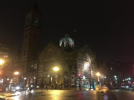 ボストン観光の際の治安