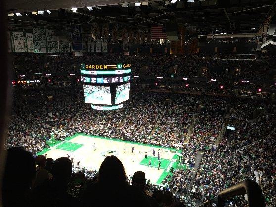 ボストン観光名所、バスケットボール観戦