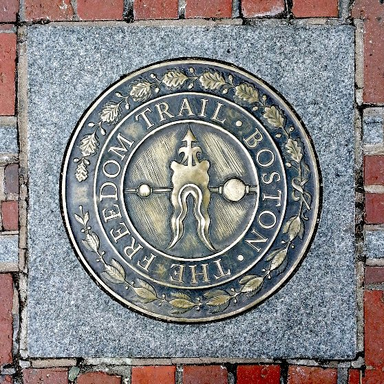 ボストン観光スポットのフリーダムトレイル