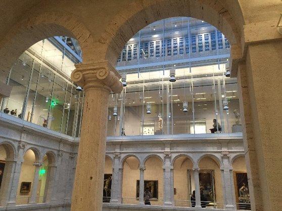 ボストンの観光名所のハーバード大学美術館