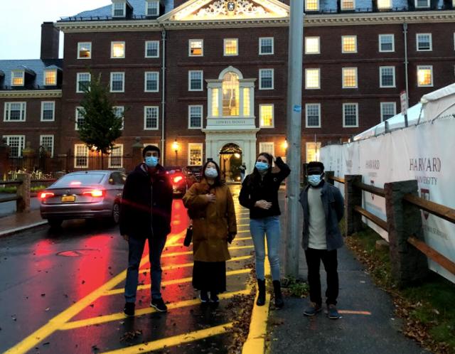 ハーバード大学ツアー
